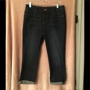 DKNY SOHO Cropped Blue Jean